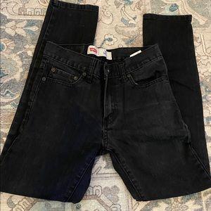 Black Levi's 510 skinny jeans